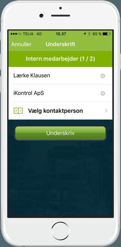 ikontrol.dk - kvalitetssikring - underskrifter