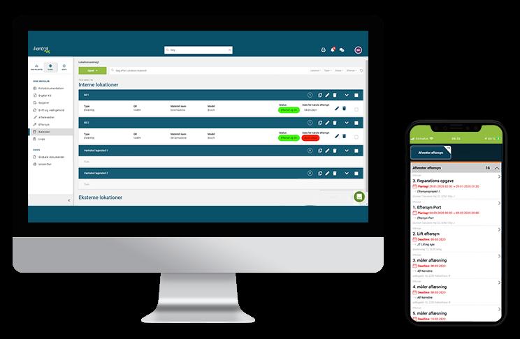 Eftersyn - serviceeftersyn - iKontrol - digital kvalitetssikring