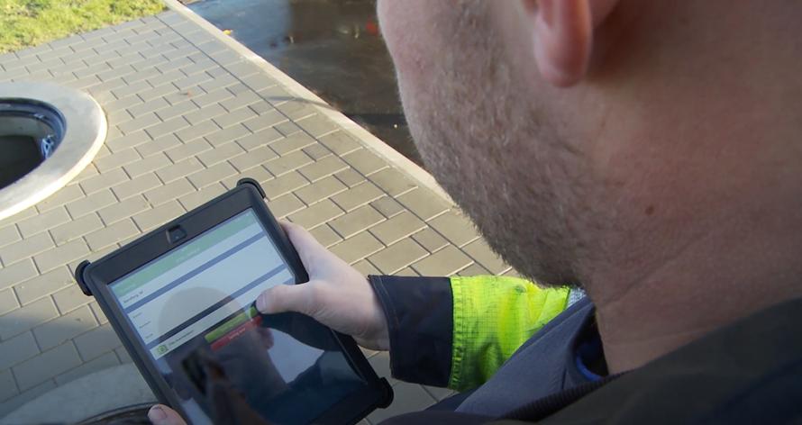 At lave og sende en rapport er blevet nemt med Digital kvalitetssikring med iKontrol